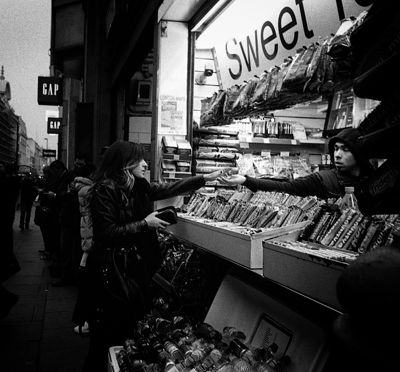 sweet stand oxford street London